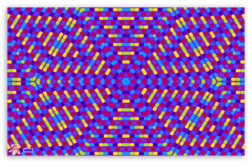 Psychedelic Pattern UltraHD Wallpaper for Wide 16:10 5:3 Widescreen WHXGA WQXGA WUXGA WXGA WGA ; Mobile 5:3 - WGA ;