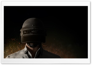 PUBG Level 3 Helmet Player HD Wide Wallpaper for 4K UHD Widescreen desktop & smartphone