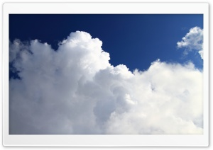 Puffy Clouds HD Wide Wallpaper for 4K UHD Widescreen desktop & smartphone