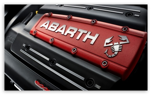 Punto Abarth Engine HD wallpaper for Wide 5:3 Widescreen WGA ; HD 16:9 High Definition WQHD QWXGA 1080p 900p 720p QHD nHD ; Mobile 5:3 16:9 - WGA WQHD QWXGA 1080p 900p 720p QHD nHD ;