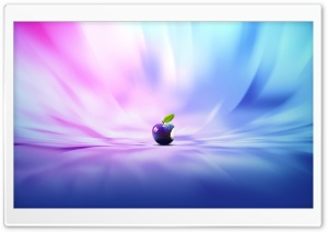 Purple Apple HD Wide Wallpaper for Widescreen