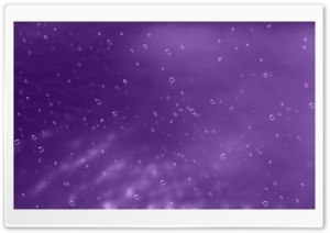 Purple Background With Bubbles HD Wide Wallpaper for Widescreen