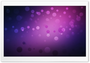 Purple Circles HD Wide Wallpaper for Widescreen