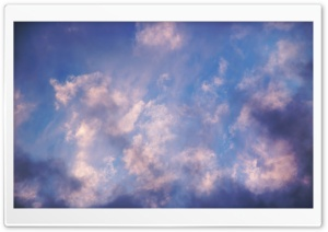 Purple Clouds HD Wide Wallpaper for Widescreen