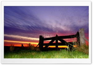 Purple Sky, Evening HD Wide Wallpaper for Widescreen