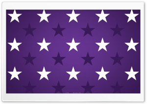 Purple Stars HD Wide Wallpaper for Widescreen