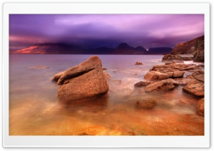 Purple Storm Clouds HD Wide Wallpaper for Widescreen