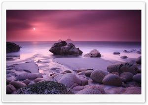 Purple Sunset HD Wide Wallpaper for Widescreen