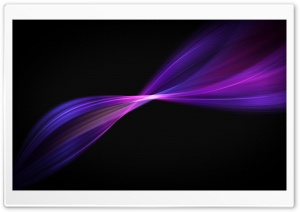 Purple Wavy Lines HD Wide Wallpaper for Widescreen