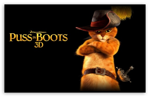 Puss In Boots 3D ❤ 4K UHD Wallpaper for Wide 16:10 5:3 Widescreen WHXGA WQXGA WUXGA WXGA WGA ; 4K UHD 16:9 Ultra High Definition 2160p 1440p 1080p 900p 720p ; Standard 3:2 Fullscreen DVGA HVGA HQVGA ( Apple PowerBook G4 iPhone 4 3G 3GS iPod Touch ) ; Mobile 5:3 3:2 16:9 - WGA DVGA HVGA HQVGA ( Apple PowerBook G4 iPhone 4 3G 3GS iPod Touch ) 2160p 1440p 1080p 900p 720p ;