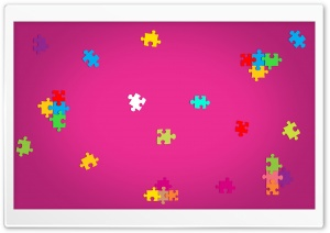 Puzzle Pieces HD Wide Wallpaper for Widescreen