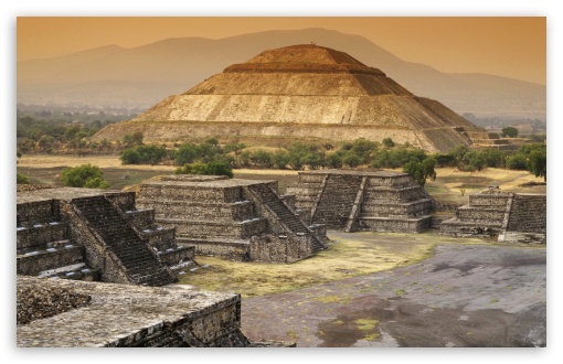 Pyramid Of The Sun, Teotihuacan, Mexico HD wallpaper for Wide 16:10 5:3 Widescreen WHXGA WQXGA WUXGA WXGA WGA ; HD 16:9 High Definition WQHD QWXGA 1080p 900p 720p QHD nHD ; Standard 4:3 5:4 3:2 Fullscreen UXGA XGA SVGA QSXGA SXGA DVGA HVGA HQVGA devices ( Apple PowerBook G4 iPhone 4 3G 3GS iPod Touch ) ; Tablet 1:1 ; iPad 1/2/Mini ; Mobile 4:3 5:3 3:2 16:9 5:4 - UXGA XGA SVGA WGA DVGA HVGA HQVGA devices ( Apple PowerBook G4 iPhone 4 3G 3GS iPod Touch ) WQHD QWXGA 1080p 900p 720p QHD nHD QSXGA SXGA ;