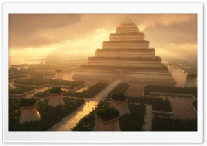 Pyramid Temple HD Wide Wallpaper for Widescreen