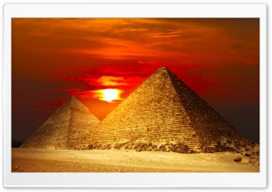 Pyramids Egypt HD Wide Wallpaper for Widescreen