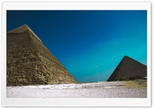 Pyramids Of Giza HD Wide Wallpaper for Widescreen
