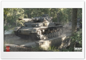 Pz.Kpfw IV Ausf F2 HD Wide Wallpaper for Widescreen