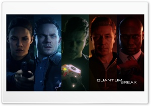 Quantum Break Cast Ultra HD Wallpaper for 4K UHD Widescreen desktop, tablet & smartphone