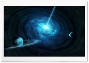 Quasar HD Wide Wallpaper for Widescreen