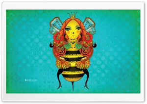 Queen Bee HD Wide Wallpaper for Widescreen