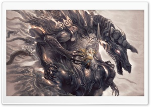 Queen Of Dragons HD Wide Wallpaper for Widescreen