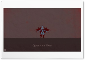 Queen Of Pain - DotA 2 HD Wide Wallpaper for 4K UHD Widescreen desktop & smartphone