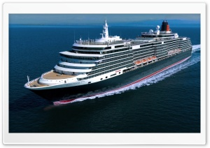 Queen Victoria Cruise Ship HD Wide Wallpaper for 4K UHD Widescreen desktop & smartphone