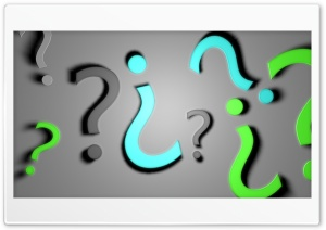 Question Mark HD Wide Wallpaper for Widescreen