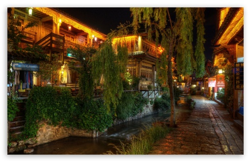 Quiet NIght at Lijiang, China HD wallpaper for Wide 16:10 5:3 Widescreen WHXGA WQXGA WUXGA WXGA WGA ; HD 16:9 High Definition WQHD QWXGA 1080p 900p 720p QHD nHD ; UHD 16:9 WQHD QWXGA 1080p 900p 720p QHD nHD ; Standard 4:3 5:4 3:2 Fullscreen UXGA XGA SVGA QSXGA SXGA DVGA HVGA HQVGA devices ( Apple PowerBook G4 iPhone 4 3G 3GS iPod Touch ) ; Tablet 1:1 ; iPad 1/2/Mini ; Mobile 4:3 5:3 3:2 16:9 5:4 - UXGA XGA SVGA WGA DVGA HVGA HQVGA devices ( Apple PowerBook G4 iPhone 4 3G 3GS iPod Touch ) WQHD QWXGA 1080p 900p 720p QHD nHD QSXGA SXGA ;