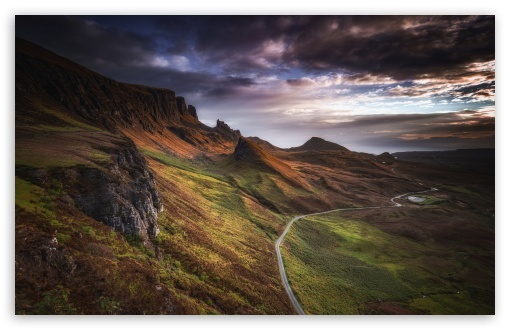 Quiraing Mountain Road Landscape, Isle of Skye, Scotland UltraHD Wallpaper for Wide 16:10 5:3 Widescreen WHXGA WQXGA WUXGA WXGA WGA ; UltraWide 21:9 24:10 ; 8K UHD TV 16:9 Ultra High Definition 2160p 1440p 1080p 900p 720p ; UHD 16:9 2160p 1440p 1080p 900p 720p ; Standard 4:3 5:4 3:2 Fullscreen UXGA XGA SVGA QSXGA SXGA DVGA HVGA HQVGA ( Apple PowerBook G4 iPhone 4 3G 3GS iPod Touch ) ; Smartphone 16:9 3:2 5:3 2160p 1440p 1080p 900p 720p DVGA HVGA HQVGA ( Apple PowerBook G4 iPhone 4 3G 3GS iPod Touch ) WGA ; Tablet 1:1 ; iPad 1/2/Mini ; Mobile 4:3 5:3 3:2 16:9 5:4 - UXGA XGA SVGA WGA DVGA HVGA HQVGA ( Apple PowerBook G4 iPhone 4 3G 3GS iPod Touch ) 2160p 1440p 1080p 900p 720p QSXGA SXGA ;