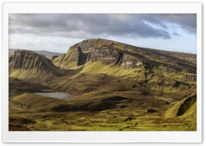 Quiraing, Scotland HD Wide Wallpaper for Widescreen