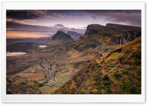 Quiraing, Trotternish, Skye, Scotland, Landscape Ultra HD Wallpaper for 4K UHD Widescreen desktop, tablet & smartphone