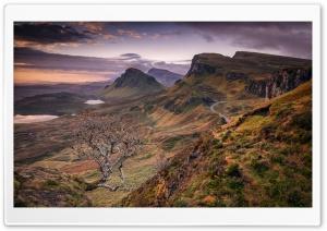 Quiraing, Trotternish, Skye, Scotland, Landscape Ultra HD Wallpaper for 4K UHD Widescreen desktop, tablet & smartphone
