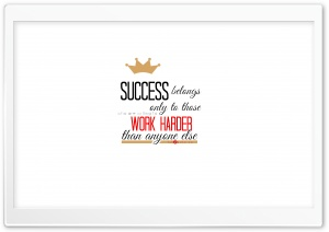 Quote about Success HD Wide Wallpaper for Widescreen