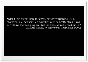 Quote by James Watson HD Wide Wallpaper for Widescreen