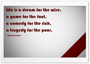 Quote Red White HD Wide Wallpaper for Widescreen