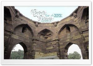 Qutub Complex And Tomb, Delhi, India HD Wide Wallpaper for Widescreen