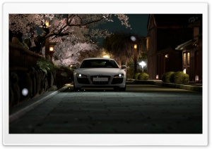R8 In Japan GT5 HD Wide Wallpaper for Widescreen