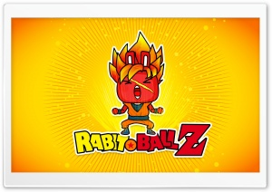 Rabbit Ball Z HD Wide Wallpaper for Widescreen