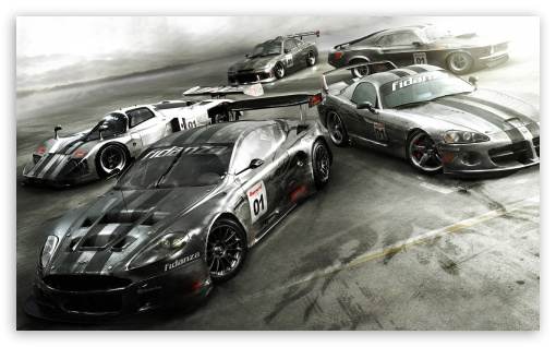 Race Driver Grid HD wallpaper for Wide 5:3 Widescreen WGA ; HD 16:9 High Definition WQHD QWXGA 1080p 900p 720p QHD nHD ; Mobile 5:3 16:9 - WGA WQHD QWXGA 1080p 900p 720p QHD nHD ;