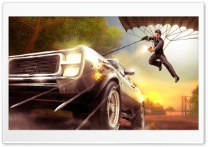 Racing Game 4 HD Wide Wallpaper for Widescreen