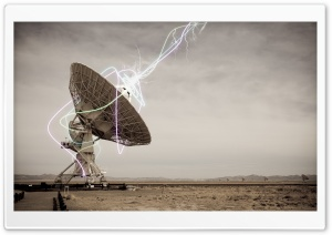Radar Dish HD Wide Wallpaper for Widescreen
