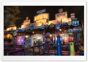 Radiator Springs Curios HD Wide Wallpaper for 4K UHD Widescreen desktop & smartphone