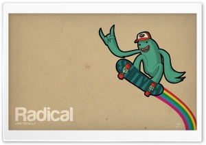 Radical HD Wide Wallpaper for 4K UHD Widescreen desktop & smartphone