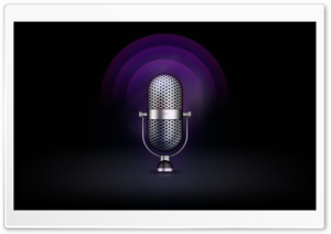 Radio Microphone HD Wide Wallpaper for Widescreen
