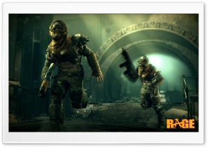 Rage First Screenshot HD Wide Wallpaper for Widescreen