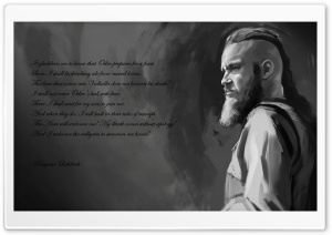 Ragnar - last words HD Wide Wallpaper for Widescreen