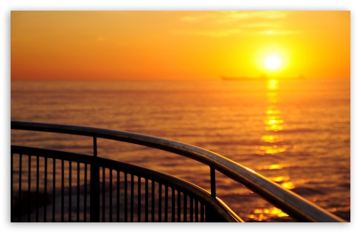 Railing By The Sea HD wallpaper for Wide 16:10 5:3 Widescreen WHXGA WQXGA WUXGA WXGA WGA ; HD 16:9 High Definition WQHD QWXGA 1080p 900p 720p QHD nHD ; Standard 4:3 5:4 3:2 Fullscreen UXGA XGA SVGA QSXGA SXGA DVGA HVGA HQVGA devices ( Apple PowerBook G4 iPhone 4 3G 3GS iPod Touch ) ; Tablet 1:1 ; iPad 1/2/Mini ; Mobile 4:3 5:3 3:2 16:9 5:4 - UXGA XGA SVGA WGA DVGA HVGA HQVGA devices ( Apple PowerBook G4 iPhone 4 3G 3GS iPod Touch ) WQHD QWXGA 1080p 900p 720p QHD nHD QSXGA SXGA ;