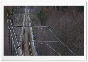 Railroad HD Wide Wallpaper for Widescreen