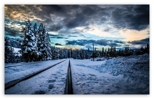 Railroad, Winter ❤ 4K UHD Wallpaper for Wide 16:10 5:3 Widescreen WHXGA WQXGA WUXGA WXGA WGA ; 4K UHD 16:9 Ultra High Definition 2160p 1440p 1080p 900p 720p ; Standard 4:3 5:4 3:2 Fullscreen UXGA XGA SVGA QSXGA SXGA DVGA HVGA HQVGA ( Apple PowerBook G4 iPhone 4 3G 3GS iPod Touch ) ; Smartphone 5:3 WGA ; Tablet 1:1 ; iPad 1/2/Mini ; Mobile 4:3 5:3 3:2 16:9 5:4 - UXGA XGA SVGA WGA DVGA HVGA HQVGA ( Apple PowerBook G4 iPhone 4 3G 3GS iPod Touch ) 2160p 1440p 1080p 900p 720p QSXGA SXGA ; Dual 16:10 5:3 16:9 4:3 5:4 WHXGA WQXGA WUXGA WXGA WGA 2160p 1440p 1080p 900p 720p UXGA XGA SVGA QSXGA SXGA ;