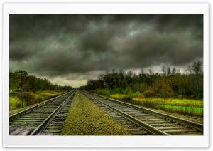 Railroads HD Wide Wallpaper for Widescreen